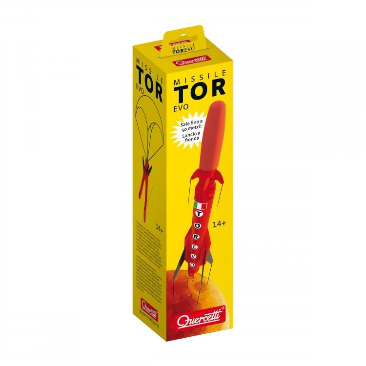 QT3126 Đồ chơi Bệ phóng tên lửa màu đỏ QUERCETTI