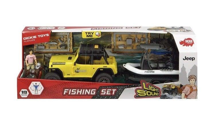 203838001 Bộ Đồ Chơi Xe Playlife-Fishing Set DICKIE TOYS (41 cm)