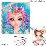 TM45298 BST sticker thiết kế thời trang Create Your Fantasy Face Sticker Book