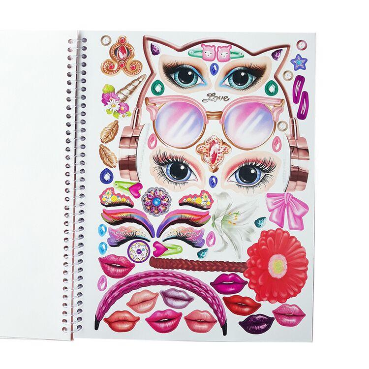 BST thiết kế thời trang TOPModel Make-Up sticker Book TM10728