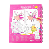 BST thiết kế thời trang Princess Mimi sticker Book with Sequin TM10839
