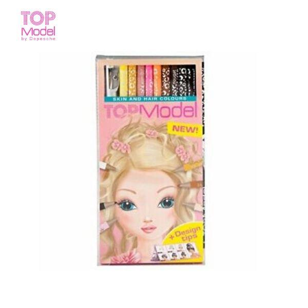 Bộ bút màu cho da và tóc Topmodel TM46304