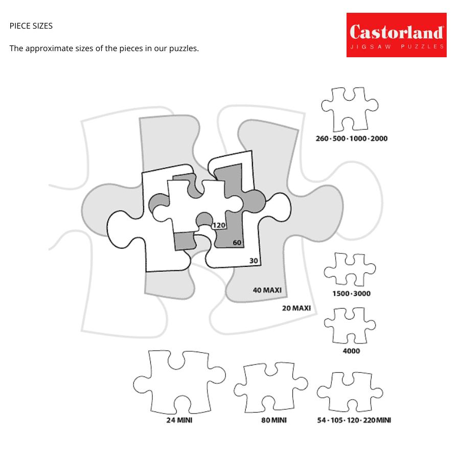 B0070053 Xếp hình puzzle Spaniel Puppy in Flowers 70 mảnh CASTORLAND
