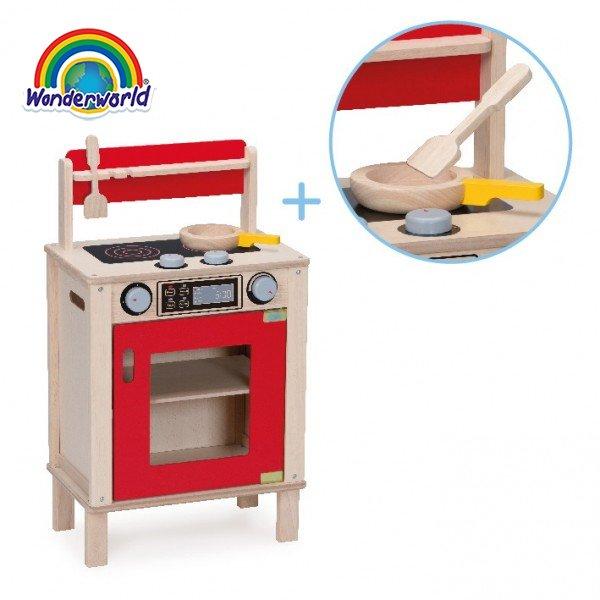 WW-4562 Đồ chơi bếp cỡ vừa bằng gỗ Wonderworld