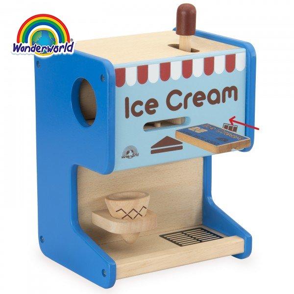 WW-4569 Đồ chơi máy làm kem bằng gỗ Wonderworld