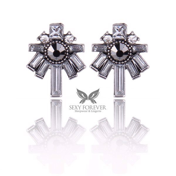 THE HOLY CROSS EARRINGS