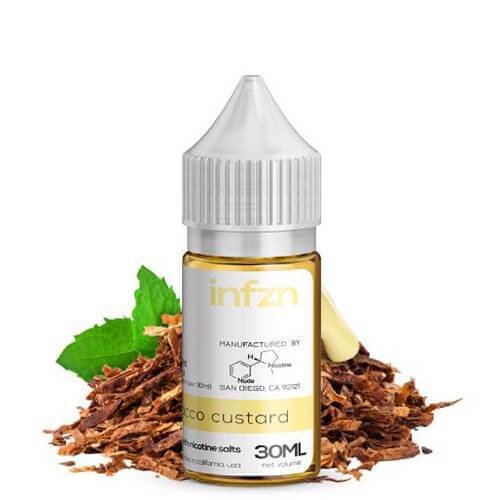 INFZN TOBACCO CUSTARD - SALT NIC
