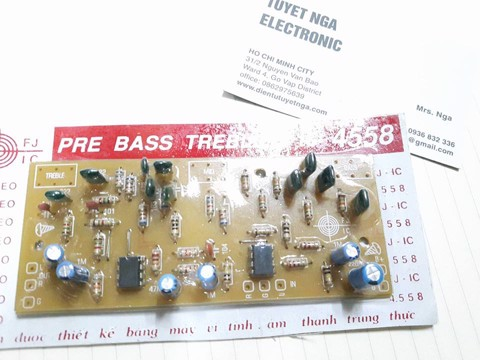BASS TREBLE 2 IC 4558