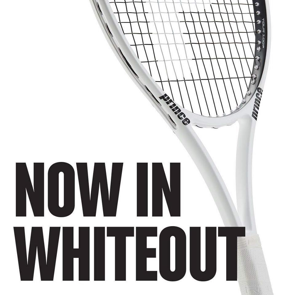 Vợt Tennis PRINCE Textreme TOUR 100P 305gram Limited Edition White (7T48X8012)