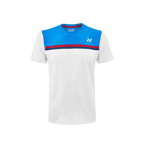 Áo Tennis Yonex TOURNAMENT CREW Neck White/Blue (10325EX-011)