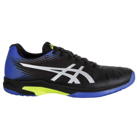 Giày Tennis Asics Solution Speed FF Black/Blue (1041A003-011)