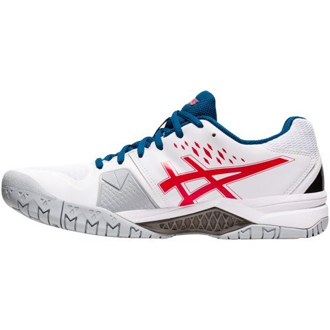 Giày Tennis Asics GEL CHALLENGER 12 White/Red (1041A045-117)