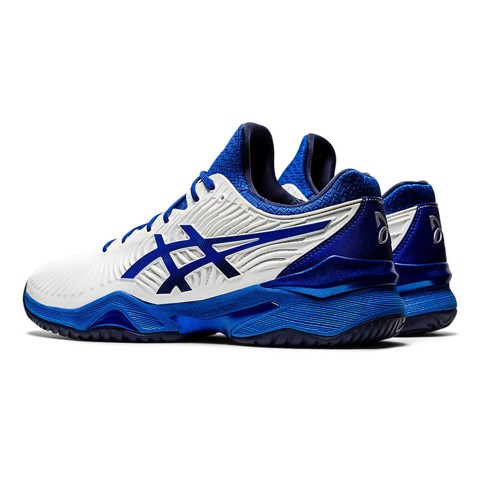 Giày Tennis DJOKOVIC Asics COURT FF Novak White/Blue (1041A089-101)