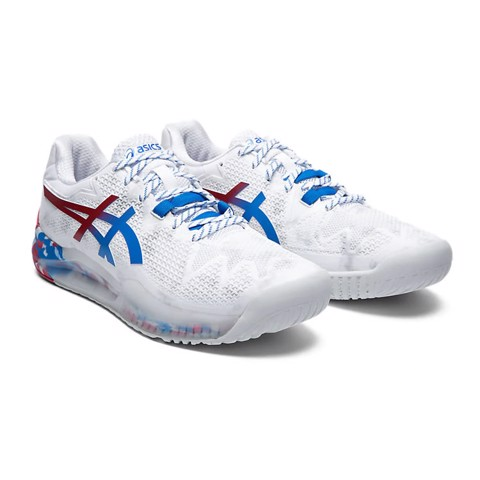 Giày Tennis Asics GEL RESOLUTION 8 Retro Tokyo Edition (1041A111-100)