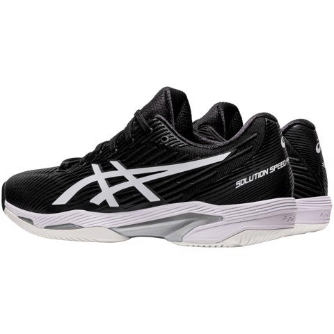 Giày Tennis Asics SOLUTION SPEED FF 2 Black/White (1041A182-001)