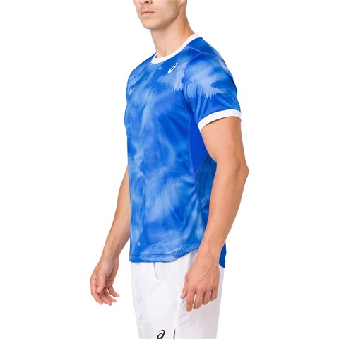 Áo Tennis Asicss Club Graphic SS Top (2041A030-400)