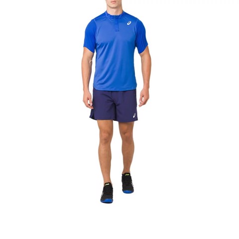 Áo Tennis Asics GEL COOL POLO Shirt illusion blue (2041A031-400)