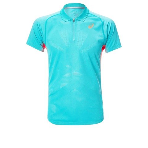 Áo Tennis Asics POLO SHIRT Techno/Cyan (2041A078-300)
