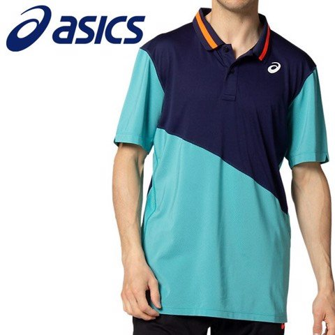 Áo Tennis Asics CLUB POLO Shirt (2041A086-408)