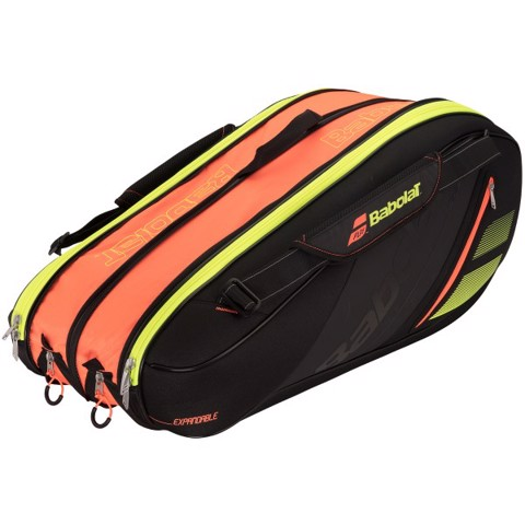 Túi Tennis 10R Babolat Team Line Expandable Bag Black/Orange (751156-264)