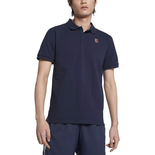 Áo Tennis Nike Court Heritage Polo Navy (934656-451)