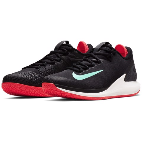 Giày Tennis 2019 Nike Court Air Zoom Zero Black/AGreen (AA8018-001)