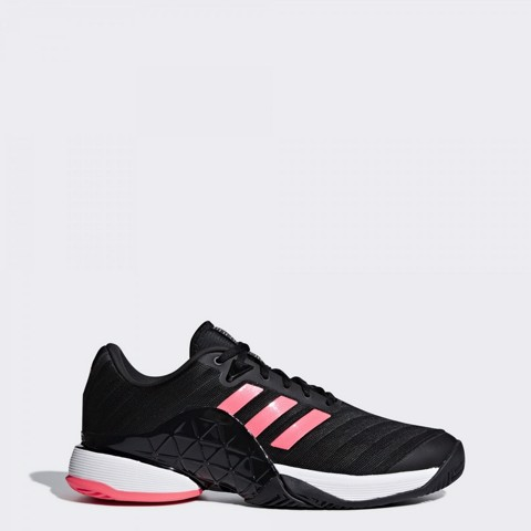 Giày Tennis Adidas Barricade 2018 Black / FlashRed (AH2092)