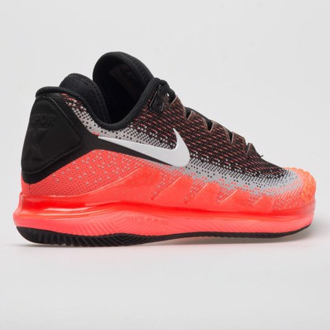 Giày Tennis Nike Air Zoom VAPOR X KNIT Black/Lava (AR0496-002)