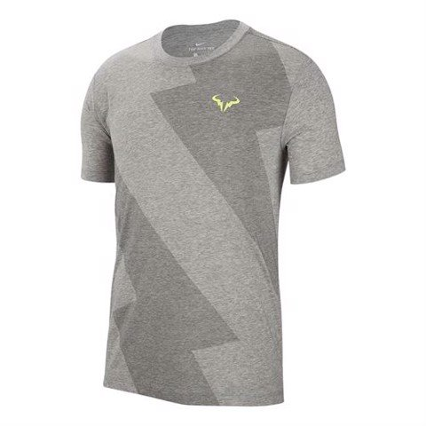 Áo Tennis Nike Court Rafa Tee - Dark Grey Heather (AR5713-063)