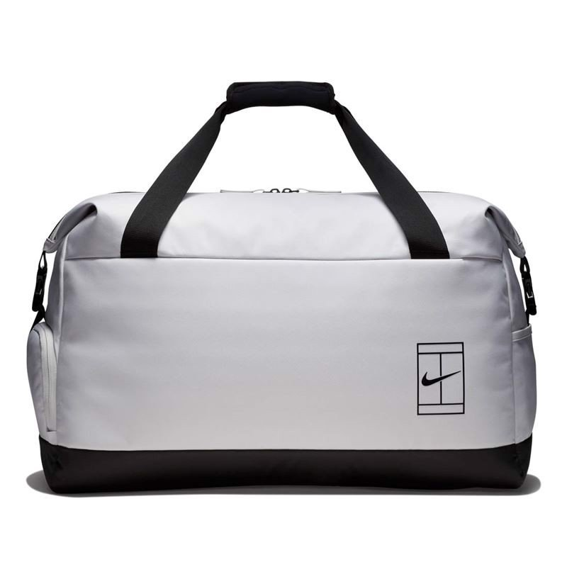 Nike Court Advantage Duffel Bag Grey/Black (BA5451-012)