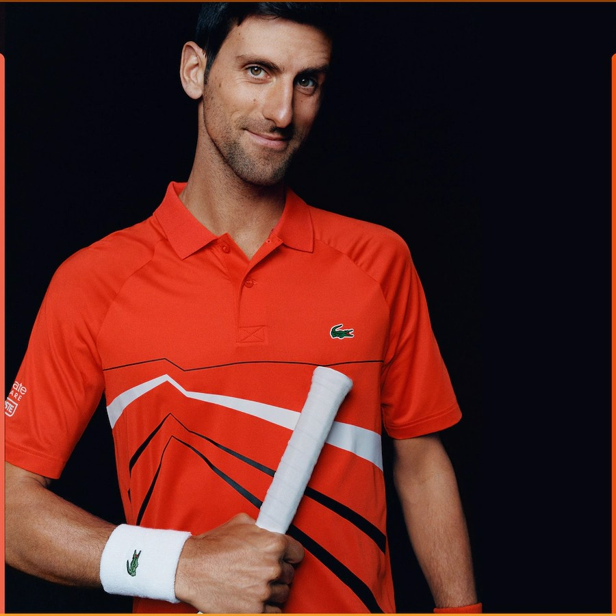 Áo Tennis Lacoste NOVAK DJOKOVIC Collection Stretch Polo (DH3382-6HH)