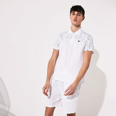 Áo Tennis Lacoste SPORT X Novak Djokovic Breathable Ultra-Light Polo (DH4782-522)