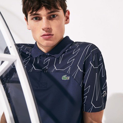 Áo Tennis Lacoste SPORT X Novak Djokovic Breathable Ultra-Light Polo (DH4782-525)