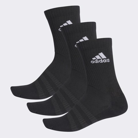 Vớ Adidas CUSHIONED CREW Black (DZ9357)