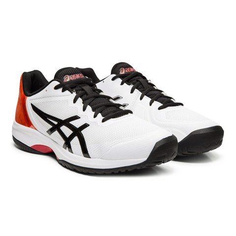 Giày Tennis Asics Gel COURT SPEED White/BlackOrange (E800N-100)