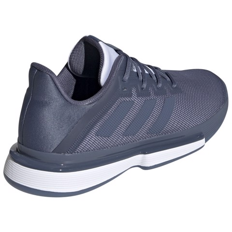 Giày Tennis Adidas SOLEMATCH Bounce Tech Ink/White (EE9562)