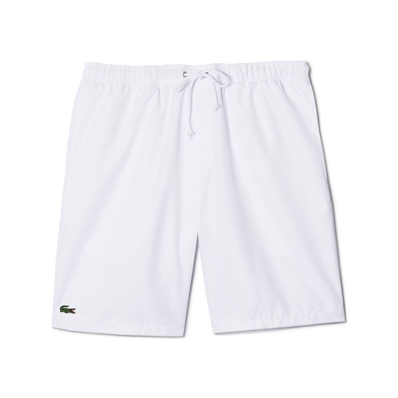 Quần Tennis Lacoste SPORT shorts in solid diamond weave taffeta (GH353T-52-001)