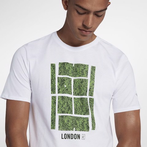Áo Tennis Nike Court Logo Tee LONDON (AO8585-100)