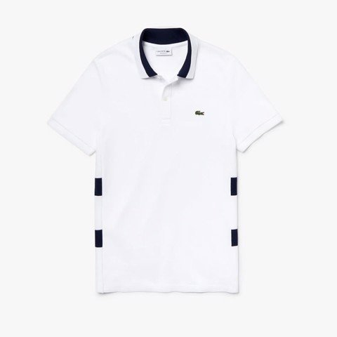 Áo Lacoste Regular Fit Striped Cotton Petit Piqué 2019 (PH4267-522)