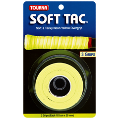 Quấn cán cuộn TOURNA SOFT TAC Neon Yellow Made in USA (STT-NY)