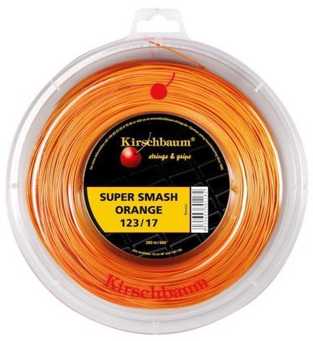 KIRSCHBAUM SUPER SMASH Orange 17 - Dây căng 1 vợt (K2SS)