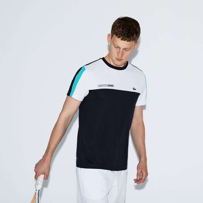 Áo Tennis Lacoste CREW Neck Colorblock (TH9472-EL2)