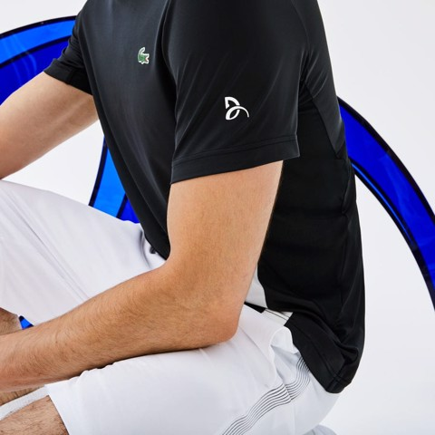 Áo Tennis Lacoste Sport NOVAK DJOKOVIC Crew Neck Stretch (TH9479-258)