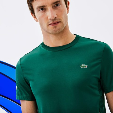 Áo Tennis Lacoste Sport NOVAK DJOKOVIC Crew Neck Stretch (TH9479-J1K)