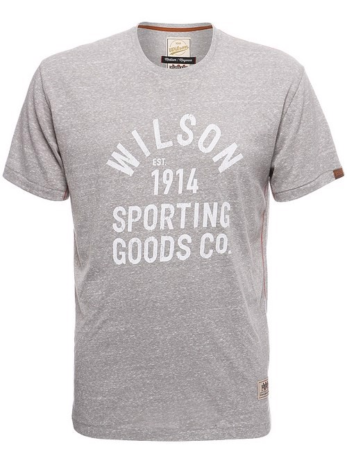WILSON MEN 100 YEAR SPORTING GOODS T-SHIRT (009601)
