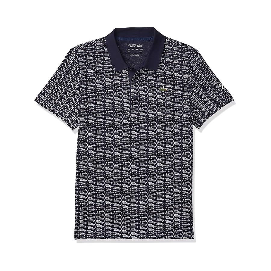 Áo Lacoste Sport NOVAK DJOKOVIC Allover Croc SuperLight Polo (YH4790-2HC)