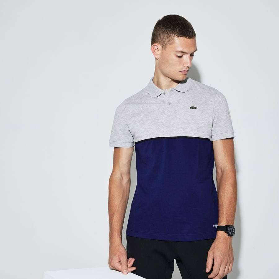 Áo Tennis Lacoste SPORT Colorblock Ultra-Light Cotton (YH9543-CH7)