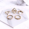 Set 5 Nhẫn Midi Ring Melody Tatiana NH2380
