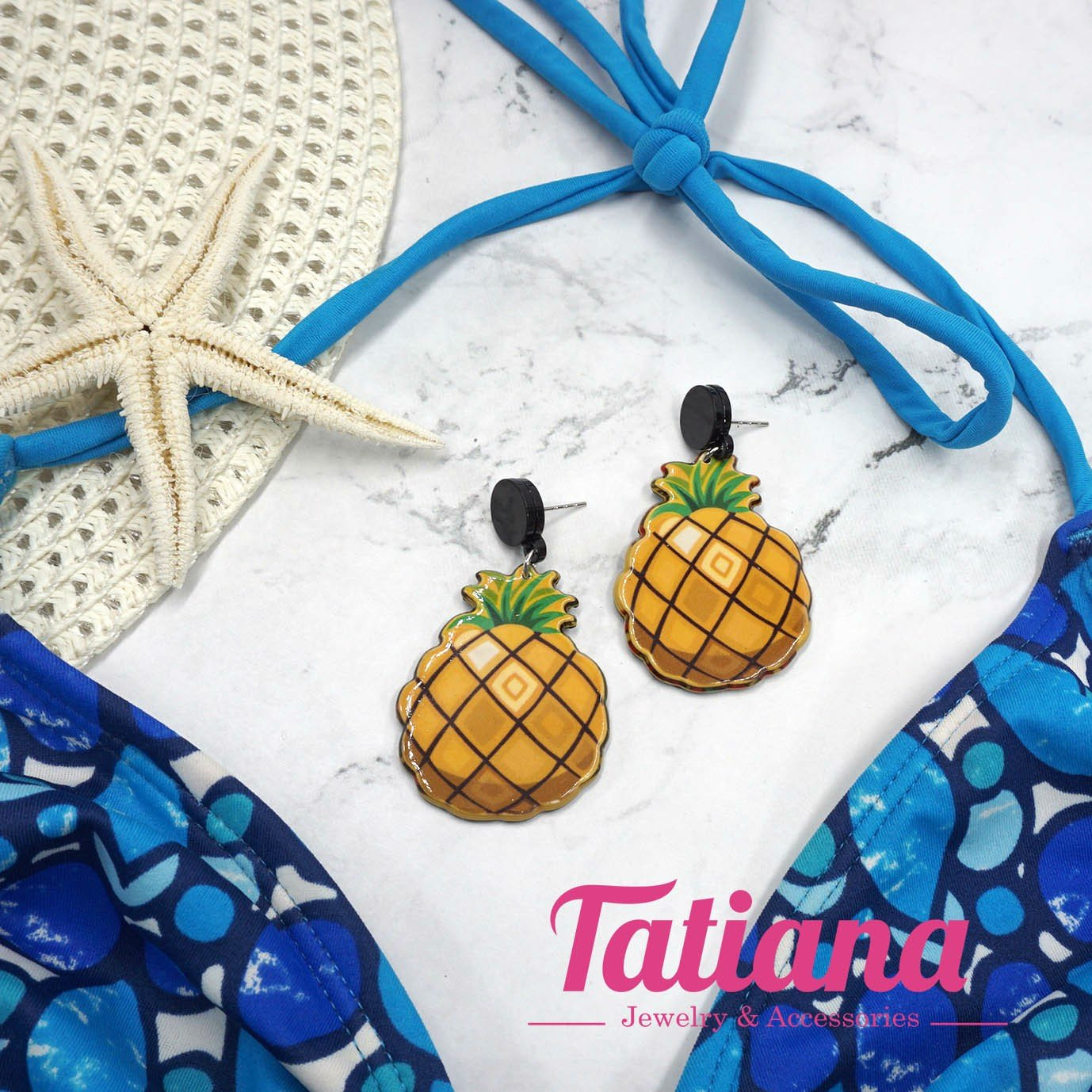 Bông Tai Tropical Sweet Pineapple Tatiana BH3353