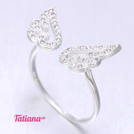 Nhẫn Bạc Angel Wings Tatiana NB1002
